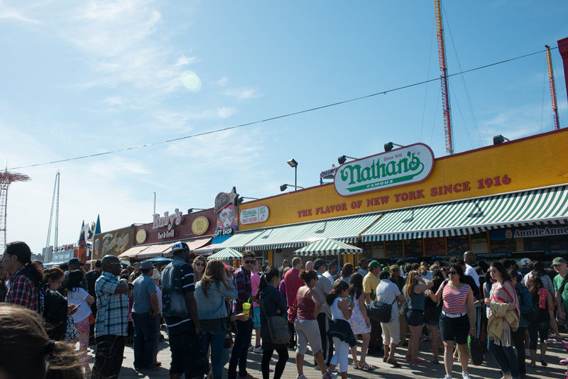 nathans famous coney island