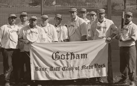 gotham base ball club of new york