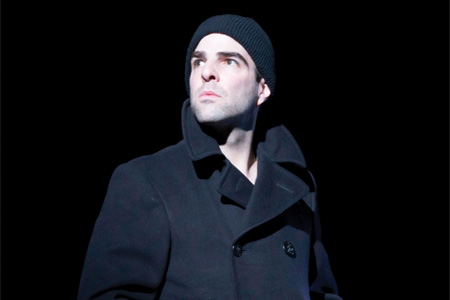 Zachary Quinto in The Glass Menagerie on Broadway