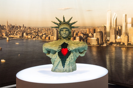 The Art of the Brick at Discovery Times Square in NYC