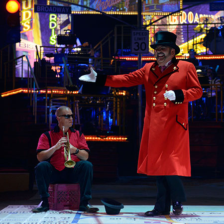 Big Apple Circus Ringmaster John Kennedy Kane