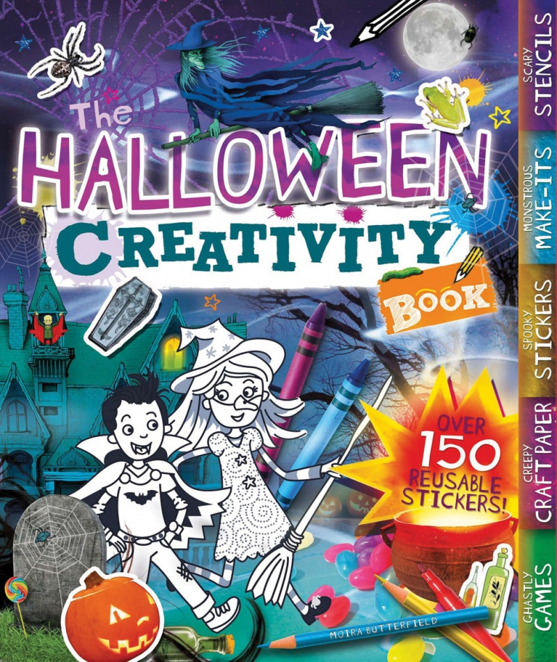 The Halloween Creativity Book