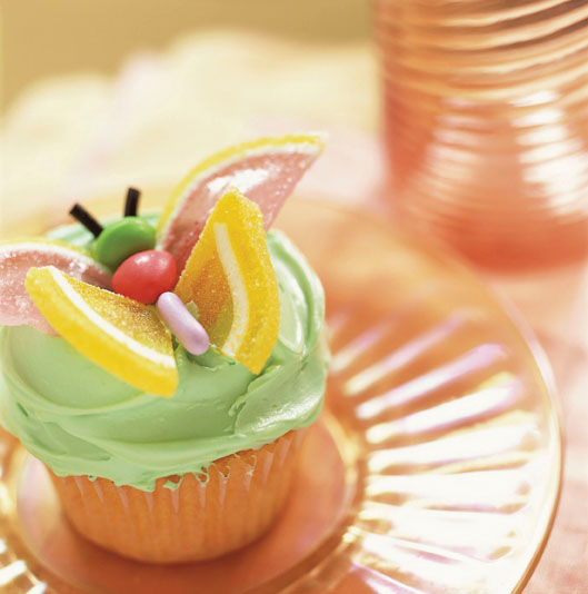 How to decorate a butterfly cupcake