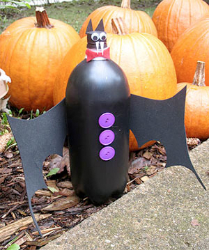 bottle bat for halloween