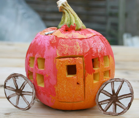 cinderella pumpkin craft