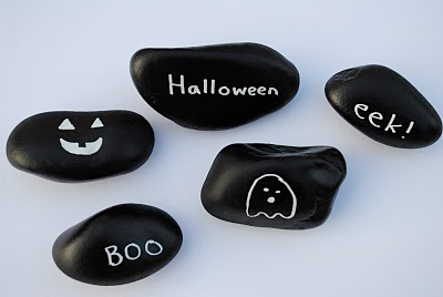 halloween stones craft