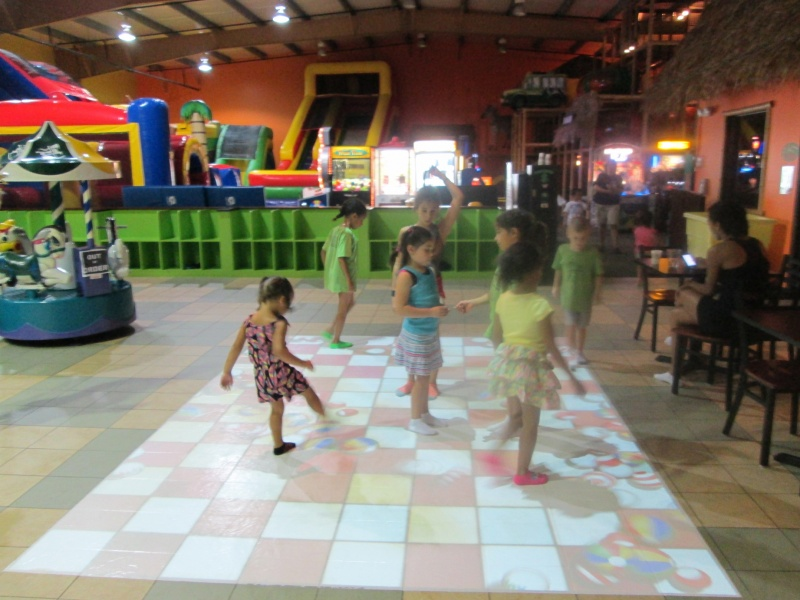 children play at safari adventure