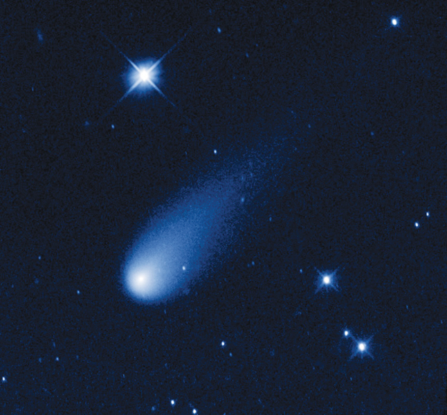 Comet ISON from the Hubble Telescope