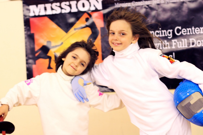 mission fencing students