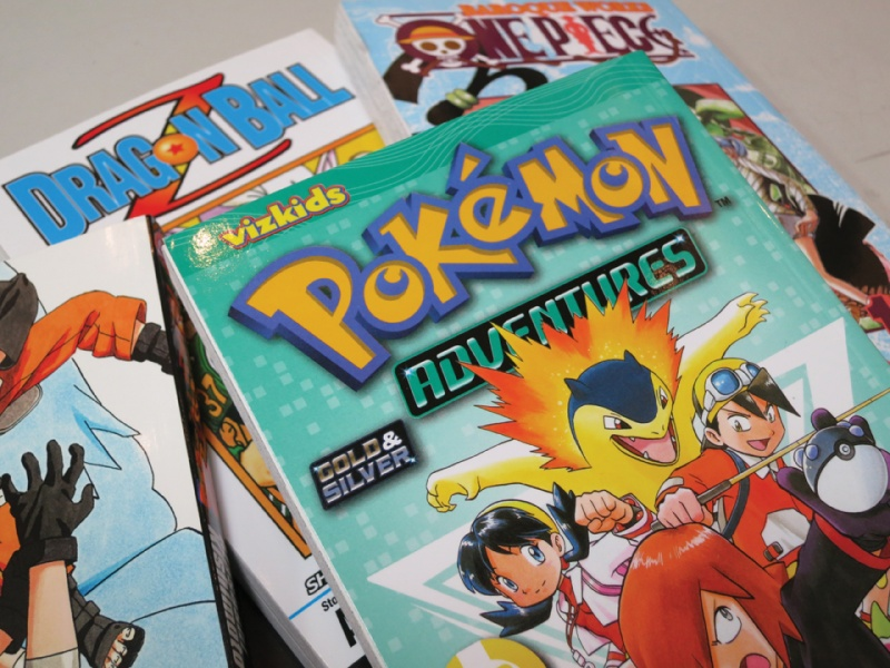 pokemon manga