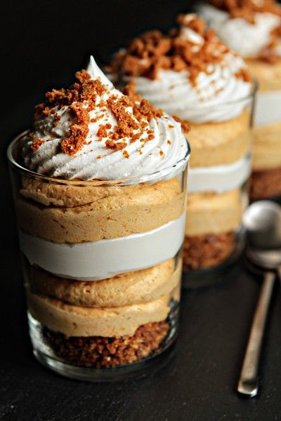 pumpkin pie trifles