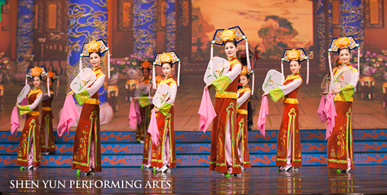 Manchu from Shen Yun Performing Arts