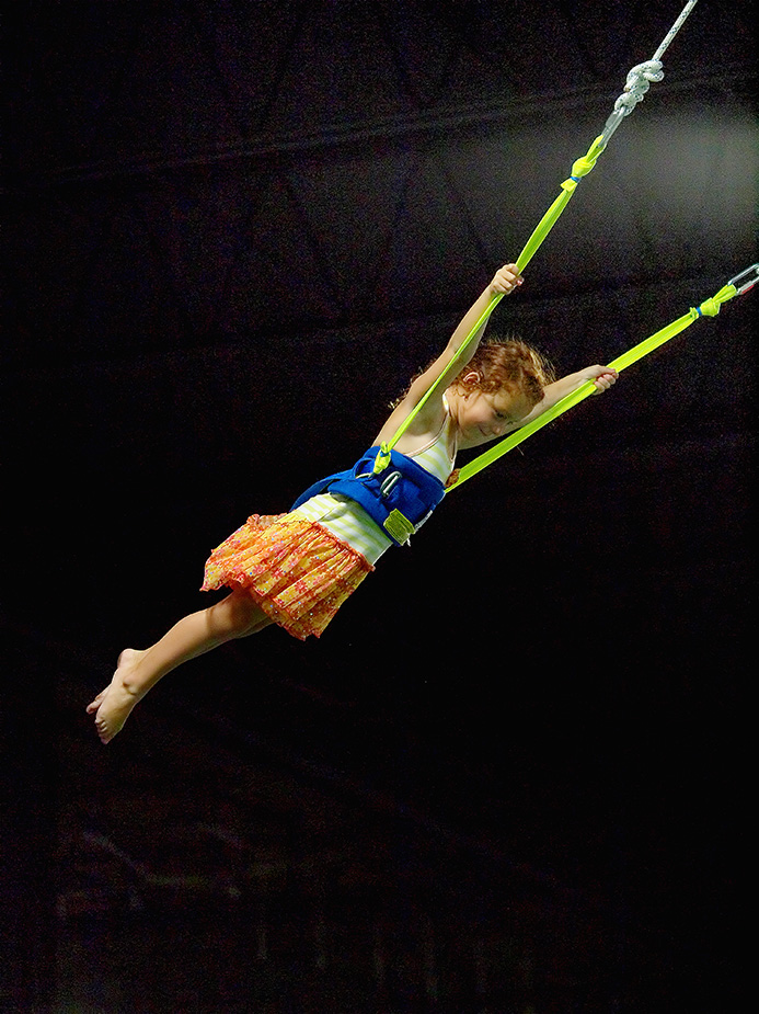 Bounce! Trampoline Sports' bungee jump