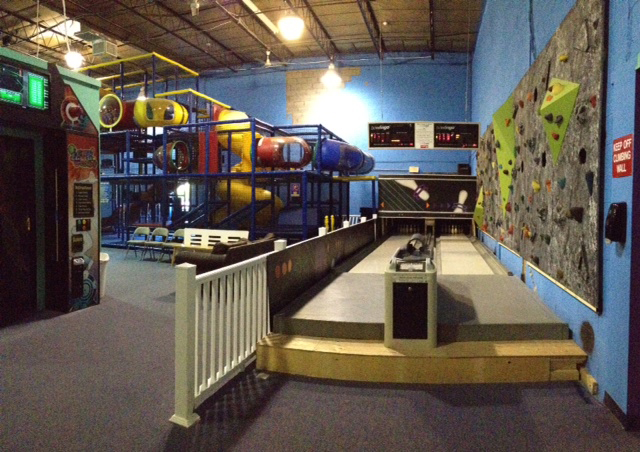 bowling lanes at active kidz long island