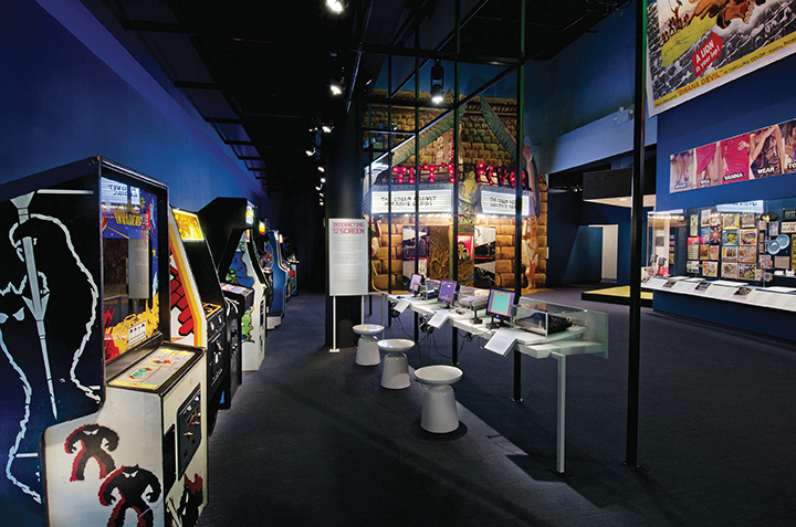 video games exhibit at museum of the moving image