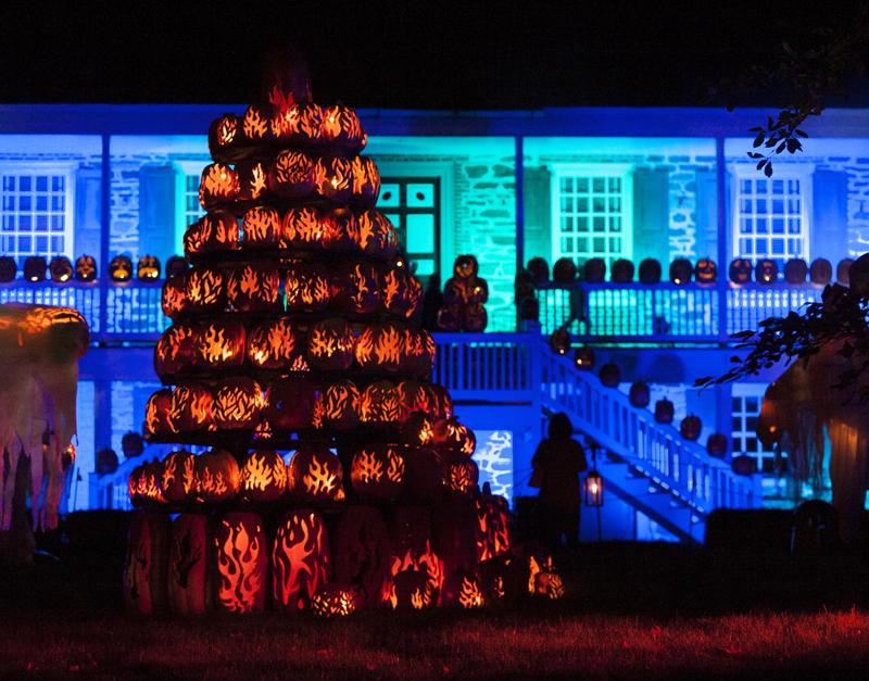 the 2013 great jack o lantern blaze at van cortlandt manor