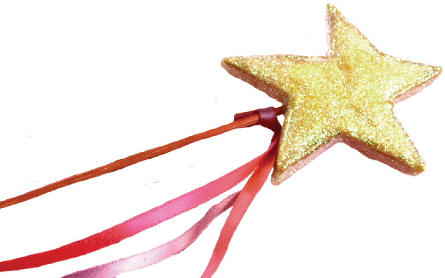 pinkalicious star wand