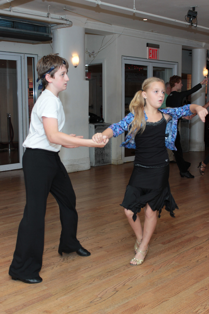 children dancing ballroom