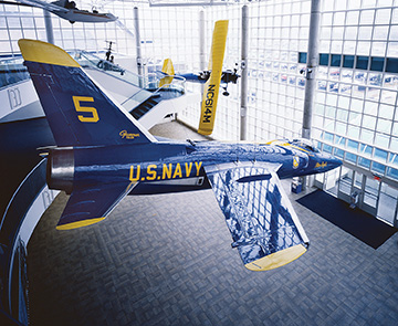 us navy blue angels plane