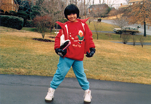 julie chu, age 7