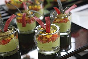 guacamole parfaits