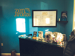 zen bronze tanning salon