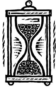 love hourglass