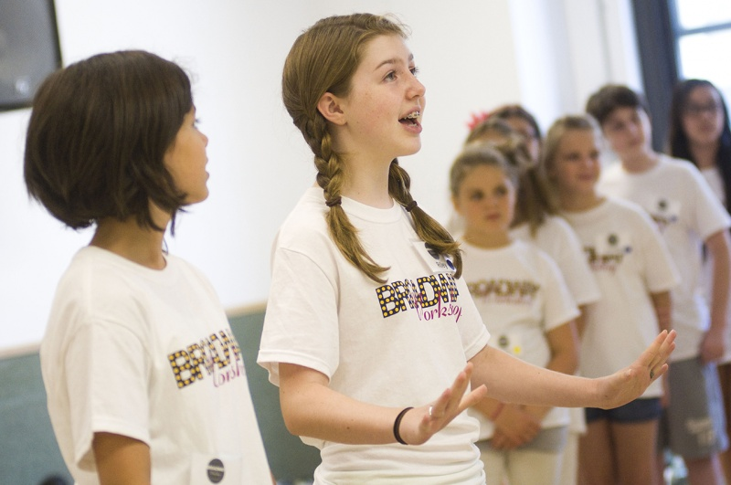 broadway workshop campers