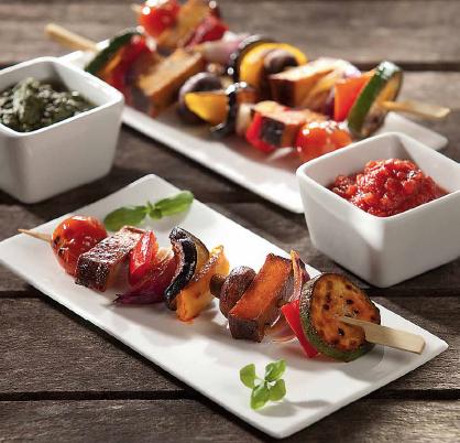 veggie shish kebabs