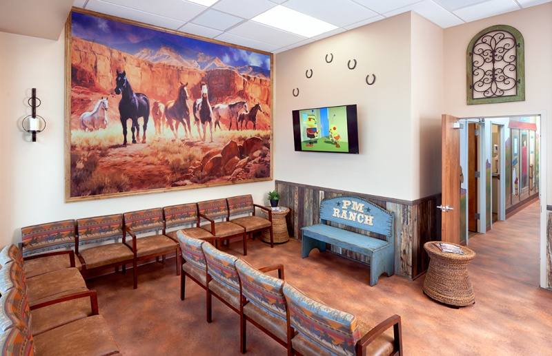 PM Pediatrics Carle Place lobby