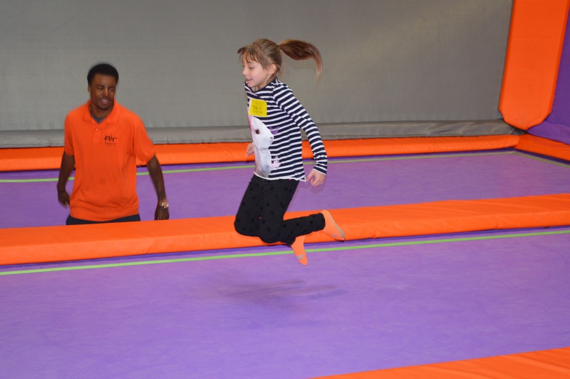 special needs jump time at Air Trampoline Sports