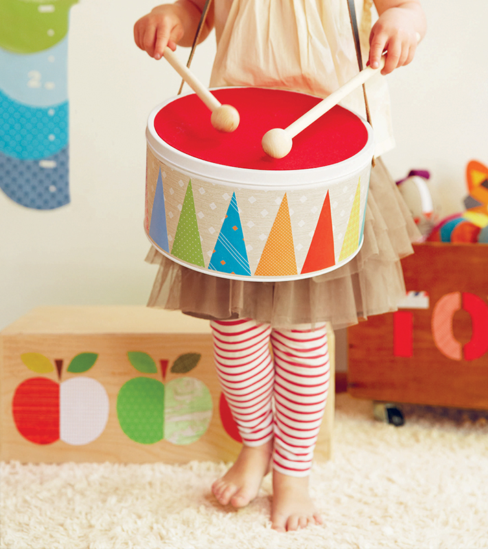 Stem School Drums: DIY Toy Drum (NY Metro Parents Magazine