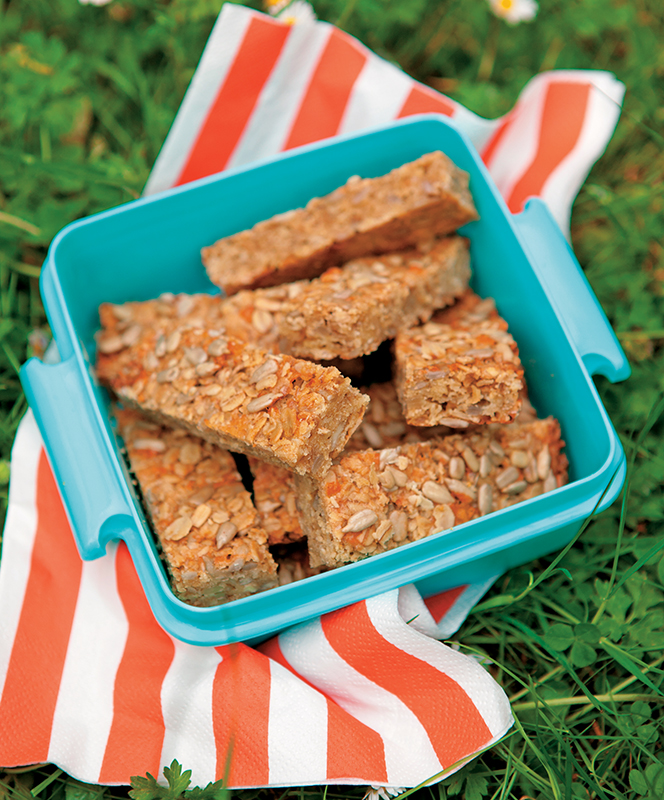 ella's sunflower oat bars