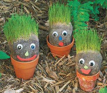 grass garden gnomes