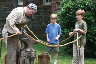 colonial day at st pauls church national historic site