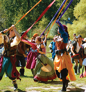 the new york renaissance faire in tuxedo park's sterling forest