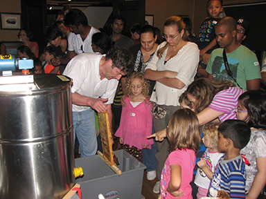 honey harvest festival at greenburg nature center