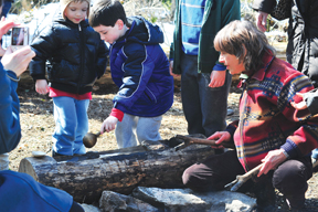 maple sugaring at greenburgh nature center