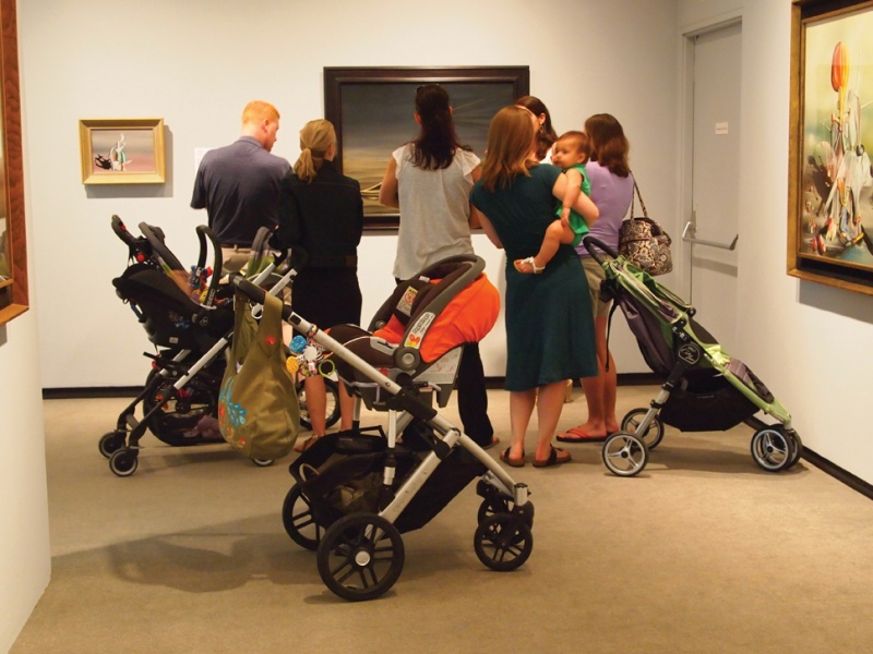stroller tour at katonah museum of art