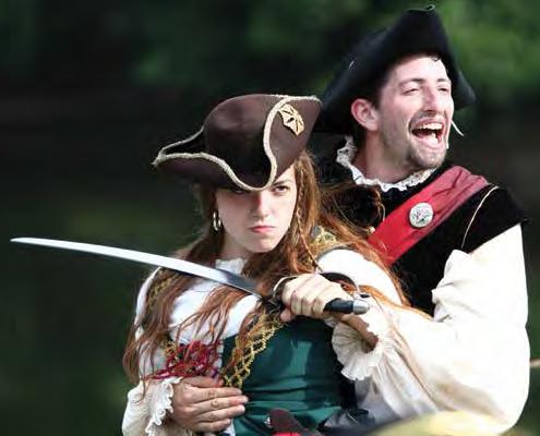 pirate festival hudson