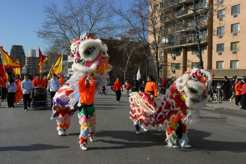 flushing unar new year parade