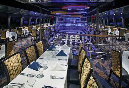 Spirit of New York Dining Cruise interior