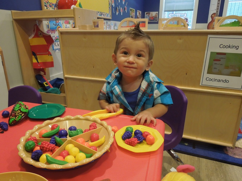 boy at bumblebees r us day care